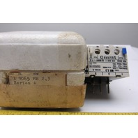 Square D 9065 MR2,3 Overload Relay 2.3-3.7 Amps 500V