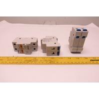 Ferraz Schawmut USCC21 Ultra Safe 30A 2 Pole 600V Fuse Holder Lot of 3