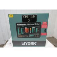 York 371-01735-007 Millennium Chiller Control Panel Assembly