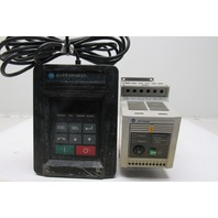 Allen Bradley 160-BA04NSF1 2HP Variable Speed Controller W/160-P2 Remote Key Pad