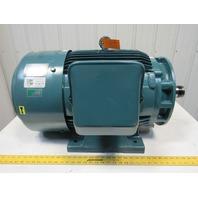 Fuji MLA5223J 60Hp/45KW Electric Motor 460V 3Ph 1170RPM 225S Frame