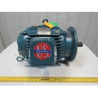 US Motors BY12 10Hp Electric Motor 208-230/460V 880RPM 284TD Frame