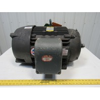 Baldor CM4107T 25HP Electric Motor 230/460V 3PH 284TSC Frame 3525RPM