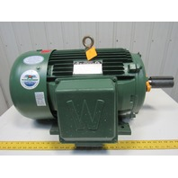 Worldwide Electric 30Hp Electric Motor 208-230/460V 3Ph 1185RPM 326T Frame