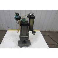 "TRD Air over Oil C-Frame Bench Top Punch Press 3"" Throat 4"" Stroke 7"" Open"