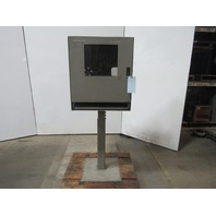 "Operator Interface Computer Enclosure Pedestal Stand 24""x23""x20"""