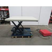 "T&S Equip. 2000Lb. 60x53"" Hydraulic Scissor Lift Table 4 to 39"" 480V"