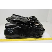 Best 697-10 Neoprene Size 10 Chemical Resistant Glove Lot of 12 Pairs