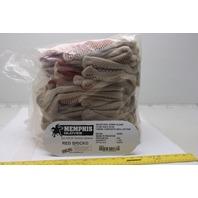 Memphis 9460K Gloves W/Sided Nitrite Blocks Work Glove Lot of 12 Pairs