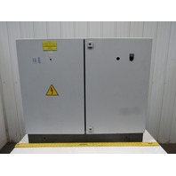 "Double Door 30x39x11"" Free Standing Electrical Box/Enclosure W/Backplate"