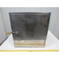 "Steel Wall Mount Enclosure Storage Box 23""X21-1/4""X11"""