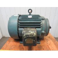 Baldor 100Hp Electric Motor 444TSC Frame 230/460V 3Ph 1180RPM