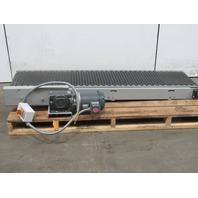 """Slider Bed Conveyor 18""""W Belt 75"""" Long 180FPM 208-230/460V 3Ph"""