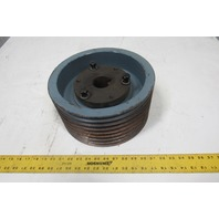 8/5V11.8-F 8 Groove Bushed Bore Pulley Sheave