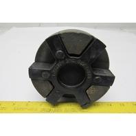 "Lovejoy L225 Standard Jaw Shaft Coupling Hub Cast Iron 2.375"" W/Spider"