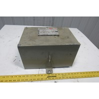 Square D 3T2F 480V Delta Primary 208Y/120V Secondary 3Ph 3kVa 3R Transformer