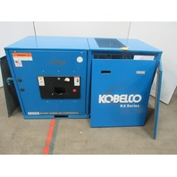 Kobelco KA25E 25Hp Rotary Screw Compressor 460V  Missing parts 0.00 Hours AS IS