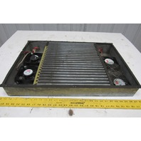 "24-1/2"" x 18-1/2"" 4 Fan Cabinet Cooling Unit 115V"