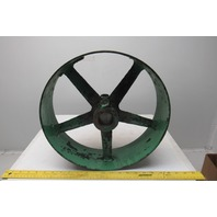 """Cordesman Machine CO. 14-1/2"""" x 4-1/4"""" Drive Belt Pulley Vintage Band Saw Wheel"""