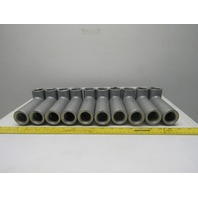 """Crouse Hinds LB37 Forme 7 1"""" Conduit Outlet Body Fitting Lot of 10"""