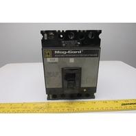 Square D FAL3610018M Mag-Guard 100A 600A 3 Pole Circuit Breaker 300-1100 Trip