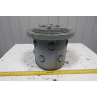 "Turret Hydraulic Swivel  Rotary Manifold 13"" Dia 16-1/2"" Flange 15""H Multi Port"