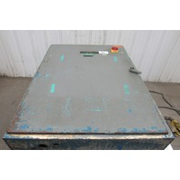 """Hoffman 48"""" x 36"""" x 8"""" Electrical Enclosure Fused Disconnect With Extras"""