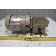 Doerr LR24684 20:1 Ratio 1/2Hp 230/460V 3Ph Right Angle Gearmotor
