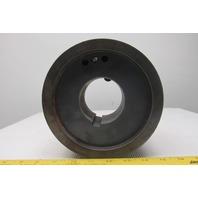 """8 Belt 3V Style Pulley 6-7/8"""" OD 3-1/2"""" Wide QD Bushed"""
