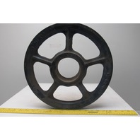 """McKissick 14-WL-8 14"""" Wire Rope Pulley Block Sheave 3-3/4"""" Bore 1/2"""" Wire"""