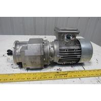 Nord SK80LP/4 CUS TW 16.50:1 Ratio .75kW 1Hp 230/460V 60Hz 3Ph Gear Motor