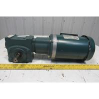 Dodge 20S05L P14G9258H 5:1 Ratio 345 RPM 2Hp 208-230/460V 60Hz Gearmotor