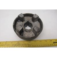 "Magnaloy Model 500 Aluminum Drive Coupling 1-1/2""'' x 3/8KW"