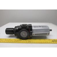 "ARO P39344610 Pneumatic Filter Regulator 1/2"" NPT 172 CFM"