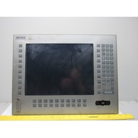 "Intra APL3700-KA-CM18-2P-1G-XM250-M 15"" Keypad Mouse Touch Panel Color Monitor"
