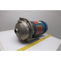 Goulds 1ST 1E5D4 Stainless Steel Centrifugal Pump 1X1-1/4-6 208-230/460V 3PH