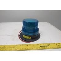 Meteorlite SY361100-B 12-72V Blue Forklift Strobe Light Beacon Safety