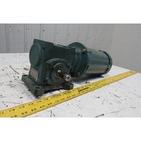 Baldor P14H1448 17Q05L14 5:1 Ratio 1Hp 208-230/460V 3Ph LH Output Gearmotor
