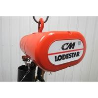 "CM Lodestar Model L 1 Ton Electric Chain Hoist 18' 6"" Lift 16FPM 208-230/460 3Ph"
