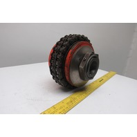 "1-3/8"" Torque Limiter Slip Disc Chain Coupling"