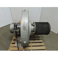 North American 2320-35/1-T100 7.5Hp Blower 1000CFM 1842 RPM 208-230/460V 3Ph