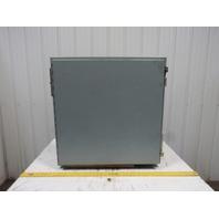 "Hoffman 303008LP 30x30x8"" Wall Mount Electrical JIC Enclosure w/Backplate"