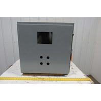 """SCE 24H2410LP 24""""x24""""x10"""" Wall Mount Electrical JIC Enclosure w/Backplate"""