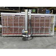 Striebig Standard II 5192A 5.5'x14' Vertical Panel Saw 3Ph 7.5Hp Vert/Horiz Cut