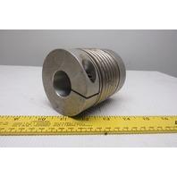"1-3/16"" x 1-1/4"" Aluminum Flexible Shaft Coupling"