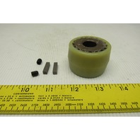 "Ohio Gear 411439 5/8"" x 5/8"" Nylon Gear Shaft Coupling"