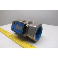 "Great Plains Industries S200N 2"" Stainless Steel Digital Flow Meter"