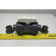 "Hayward TB10050ST 1/2"" PVC Union Ball Valve Threaded Socket"