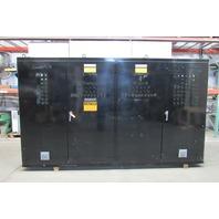 "Hoffman 4 Door Electrical Enclosure 86""x149""x14"" W/ Back Plates"