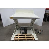 """Southworth 6000Lb 9-1/4"""" to 41"""" Lift/40° Tilt Table 53""""x50"""" 115V 1Ph"""
